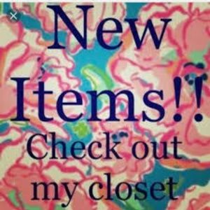 New Items!!!
